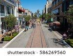 los angeles  ca  july 16  2016  ... | Shutterstock . vector #586269560