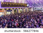 london  uk   february 23  2017  ... | Shutterstock . vector #586277846