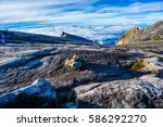some stacked rocks stacked in... | Shutterstock . vector #586292270