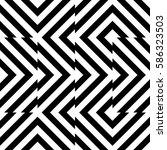 vector seamless pattern.... | Shutterstock .eps vector #586323503