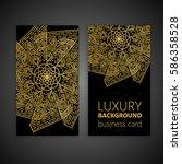 vintage decorative elements.... | Shutterstock .eps vector #586358528