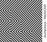 vector seamless pattern.... | Shutterstock .eps vector #586361549