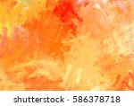 brushed painted abstract... | Shutterstock . vector #586378718