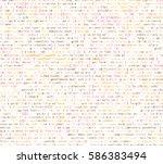 software   web developer... | Shutterstock .eps vector #586383494