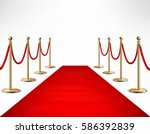 red carpet ceremonial vip event ... | Shutterstock .eps vector #586392839