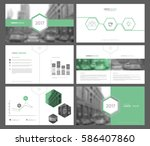 set of infographic elements for ... | Shutterstock .eps vector #586407860