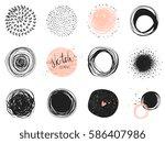 abstract circle clip art...