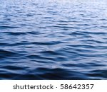 photo of blue water background... | Shutterstock . vector #58642357