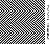 vector seamless pattern.... | Shutterstock .eps vector #586433918