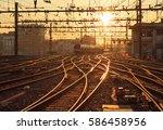A Train On The Railroad Tracks...