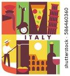 Italy  Vector Flat Illustratio...