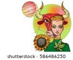 rectangular background with...   Shutterstock .eps vector #586486250