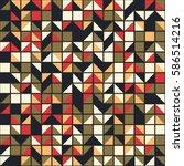 geometric seamless pattern...   Shutterstock .eps vector #586514216