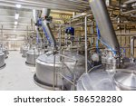 pharmaceutical factory... | Shutterstock . vector #586528280