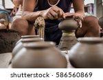 nonthaburi  thailand   february ... | Shutterstock . vector #586560869