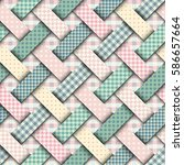 seamless background pattern.... | Shutterstock .eps vector #586657664