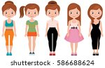 stock cartoon illustration of a ... | Shutterstock . vector #586688624