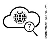 global search vector icon ...