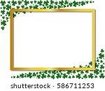 St. Patrick\'s Day Green White...