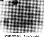 black and white halftone... | Shutterstock .eps vector #586722668