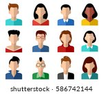 vector illustration of a... | Shutterstock .eps vector #586742144