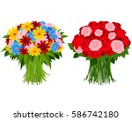 vector illustration of a two... | Shutterstock .eps vector #586742180