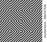 vector seamless pattern.... | Shutterstock .eps vector #586767536