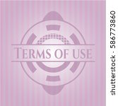 terms of use realistic pink...