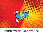 fight backgrounds comics style... | Shutterstock .eps vector #586796870