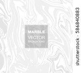 vector ink marble texture... | Shutterstock .eps vector #586840883