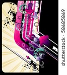 abstract vector illustration | Shutterstock .eps vector #58685869