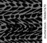 grunge halftone dots texture...   Shutterstock .eps vector #586867670
