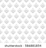 vector illustration black and... | Shutterstock .eps vector #586881854
