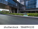 square of shanghai financial... | Shutterstock . vector #586894133