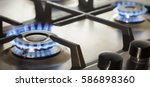 Kitchen Gas Cooker With Burnin...