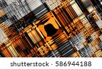 abstract image background 16 9... | Shutterstock . vector #586944188