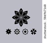 flower   Shutterstock .eps vector #586967168