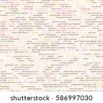 software   web developer... | Shutterstock .eps vector #586997030