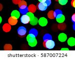 lights holiday bokeh. abstract... | Shutterstock . vector #587007224