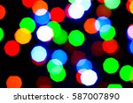 lights holiday bokeh. abstract... | Shutterstock . vector #587007890