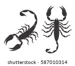 Scorpion Set. Isolated Scorpio...