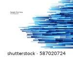 blue shiny hi tech motion...