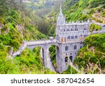 Beautiful Las Lajas Sanctuary...