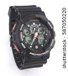 men watch | Shutterstock . vector #587050220