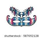 carnival mask.   Shutterstock .eps vector #587052128