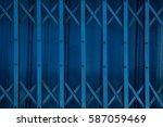 line  door steel  texture and... | Shutterstock . vector #587059469