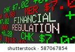 financial regulation government ... | Shutterstock . vector #587067854