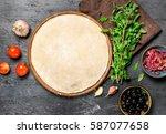ingredients for cooking... | Shutterstock . vector #587077658