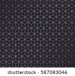 abstract polygonal background.... | Shutterstock .eps vector #587083046