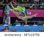 incheon september 23  2014  ... | Shutterstock . vector #587123750